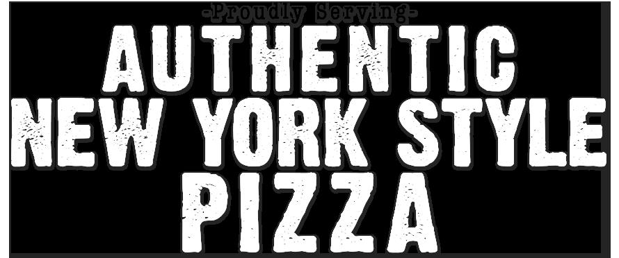 Authentic New York Style Pizza